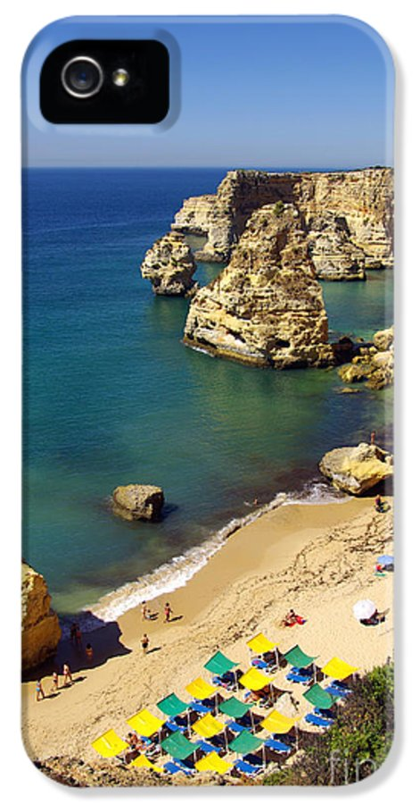 Above IPhone 5 / 5s Case featuring the photograph Marinha Beach by Carlos Caetano