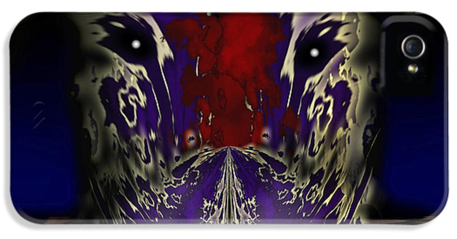 Dragon IPhone 5 / 5s Case featuring the painting Metamorphosis by Christopher Gaston