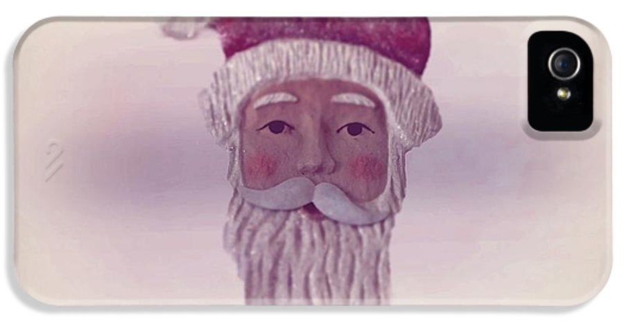 Santa Claus IPhone 5 / 5s Case featuring the photograph Old Saint Nicholas by David Dehner
