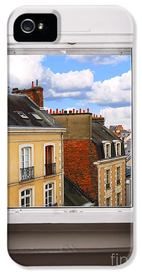 Window IPhone 5 / 5s Case featuring the photograph Open Window by Elena Elisseeva