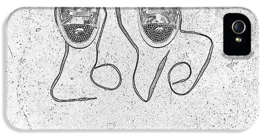 Sneaker IPhone 5 / 5s Case featuring the photograph Sneaker Love 2 by Paul Ward