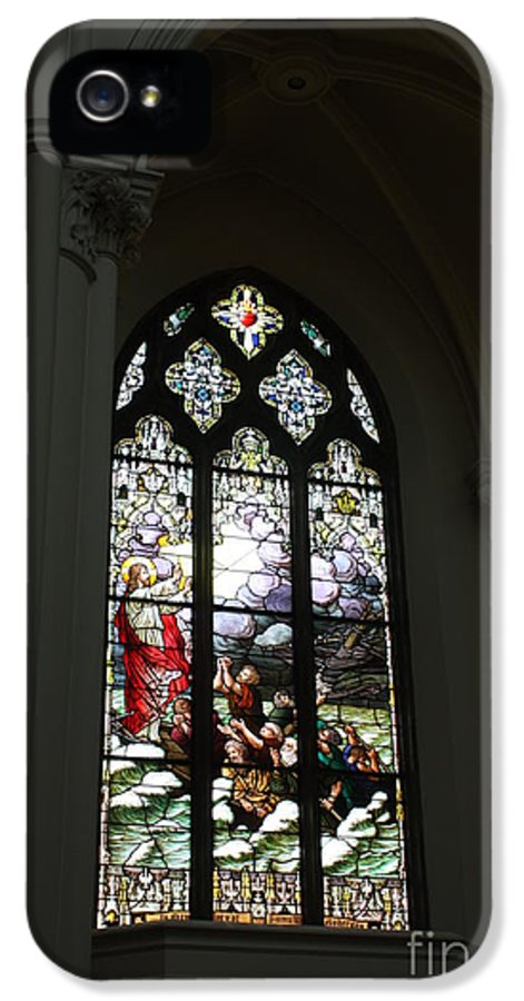 Pope John Paul Ll IPhone 5 / 5s Case featuring the photograph Stained Glass by David Bearden