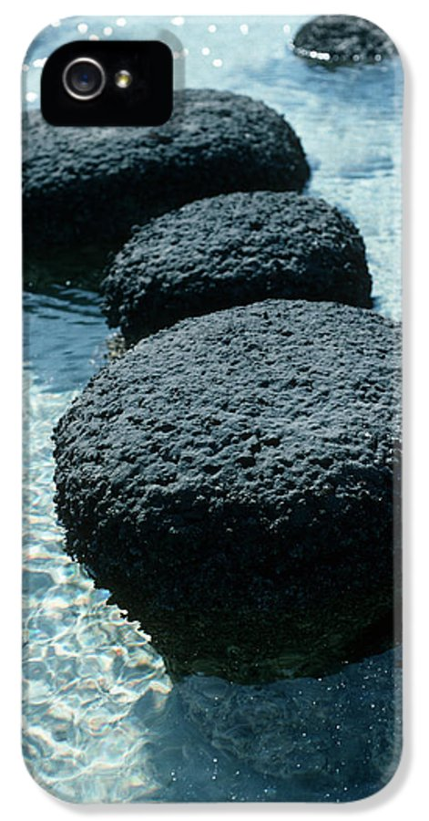 Blue-green Alga IPhone 5 / 5s Case featuring the photograph Stromatolites by Georgette Douwma