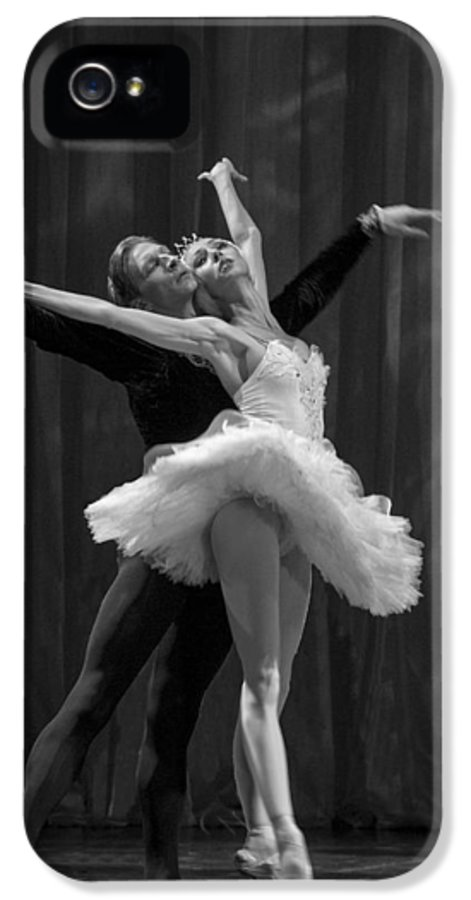 Hermitage IPhone 5 / 5s Case featuring the photograph Swan Lake White Adagio Russia 2 by Clare Bambers