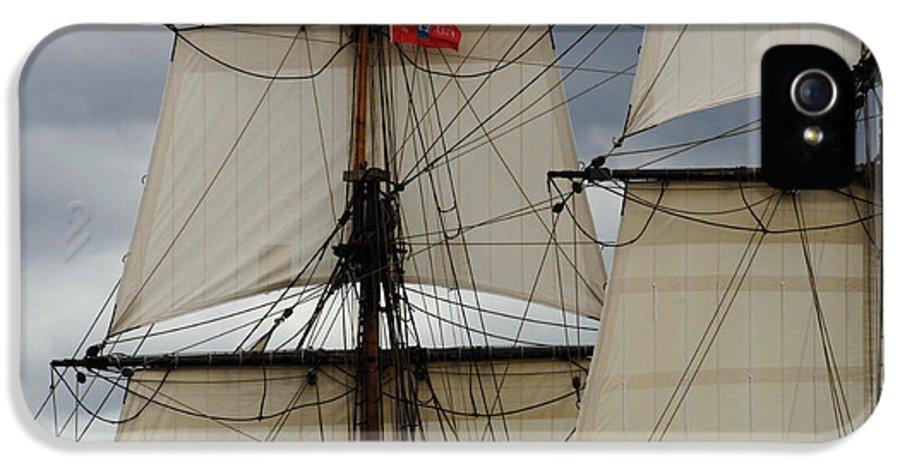 Tall Ship IPhone 5 / 5s Case featuring the photograph Tall Ships by Bob Christopher