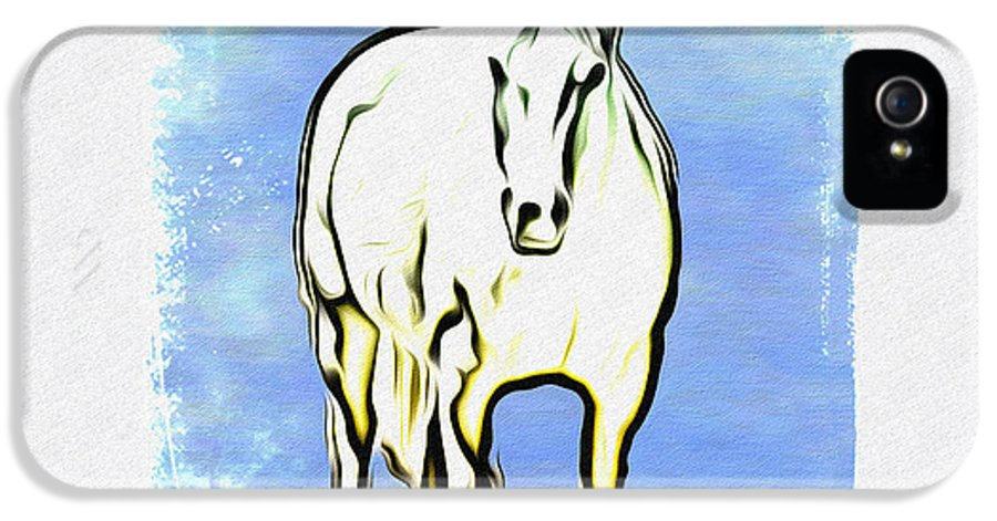 The Horse IPhone 5 / 5s Case featuring the photograph The Horse by Bill Cannon
