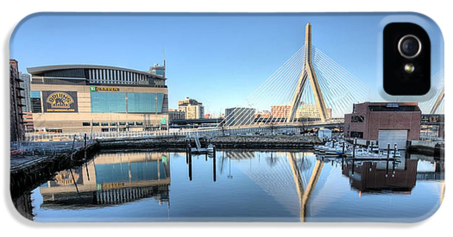 The Zakim Bridge IPhone 5 / 5s Case featuring the photograph The Zakim by JC Findley