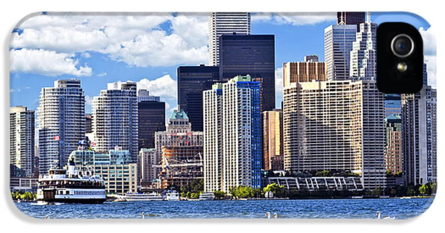 Toronto IPhone 5 / 5s Case featuring the photograph Toronto Waterfront by Elena Elisseeva