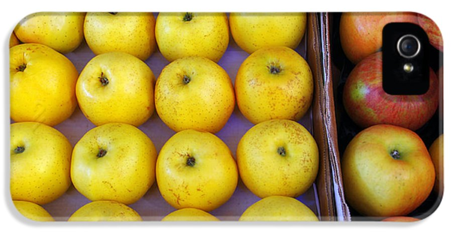 Agriculture IPhone 5 / 5s Case featuring the photograph Yellow Apples by Carlos Caetano