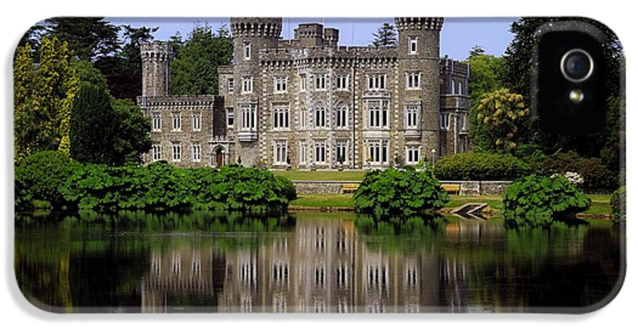 Archaeology IPhone 5 / 5s Case featuring the photograph Johnstown Castle, Co Wexford, Ireland by The Irish Image Collection