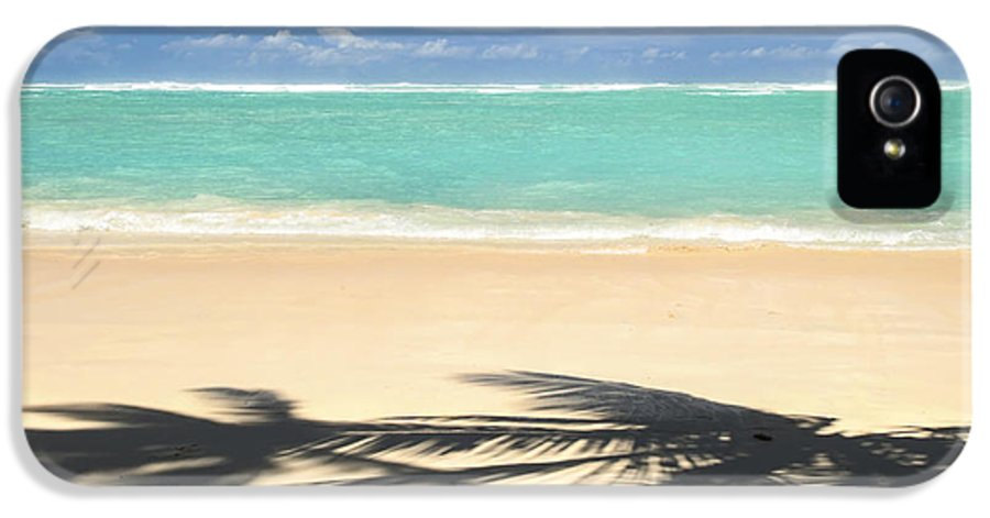 Beach IPhone 5 / 5s Case featuring the photograph Tropical Beach by Elena Elisseeva