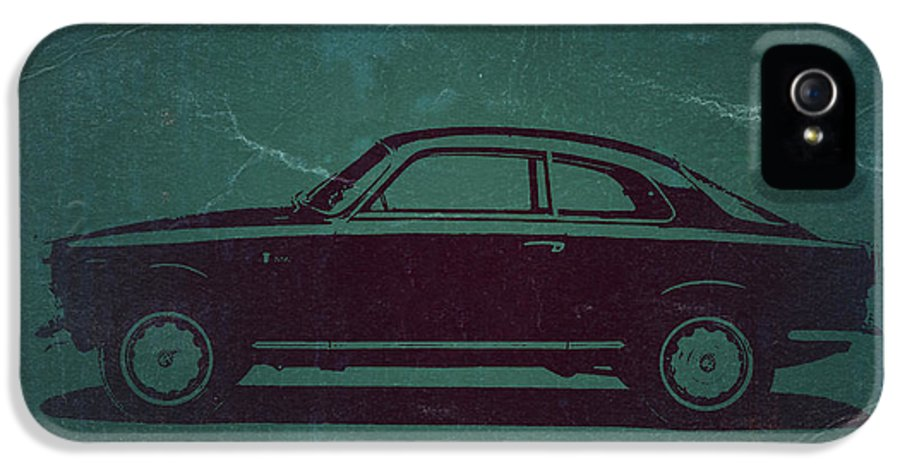 Alfa Romeo Gtv IPhone 5 / 5s Case featuring the photograph Alfa Romeo Gtv by Naxart Studio