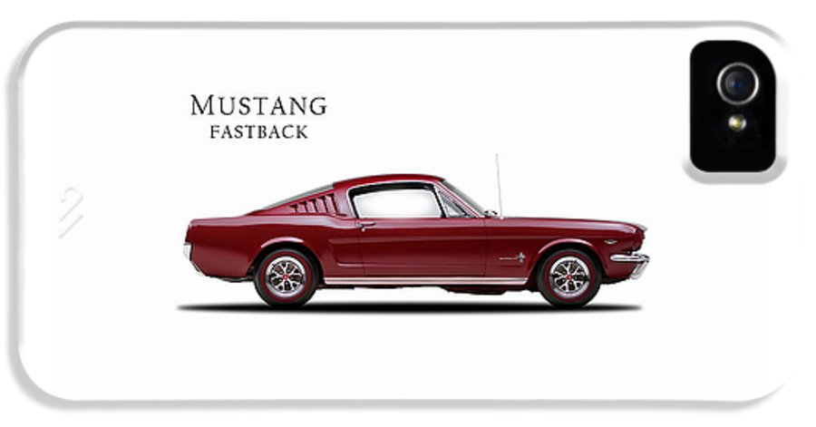 Ford Mustang Fastback 1965 IPhone 5 / 5s Case featuring the photograph Ford Mustang Fastback 1965 by Mark Rogan
