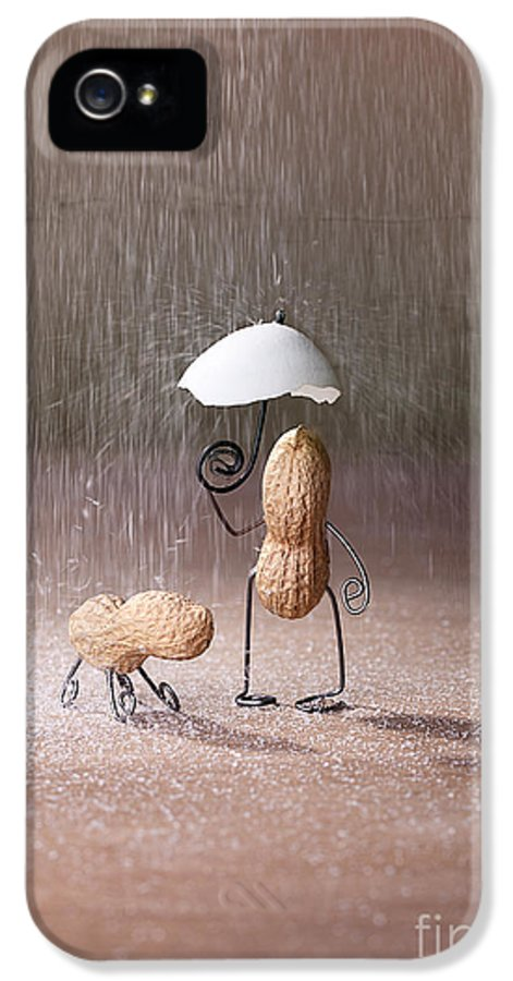 Peanut IPhone 5 / 5s Case featuring the photograph Bad Weather 02 by Nailia Schwarz