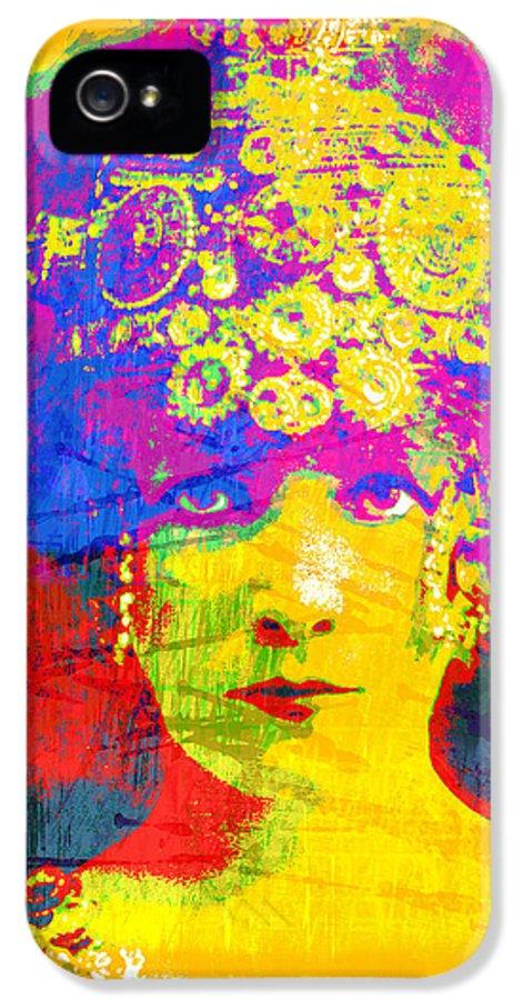 Modern Art IPhone 5 / 5s Case featuring the digital art Bernhardt by Gary Grayson