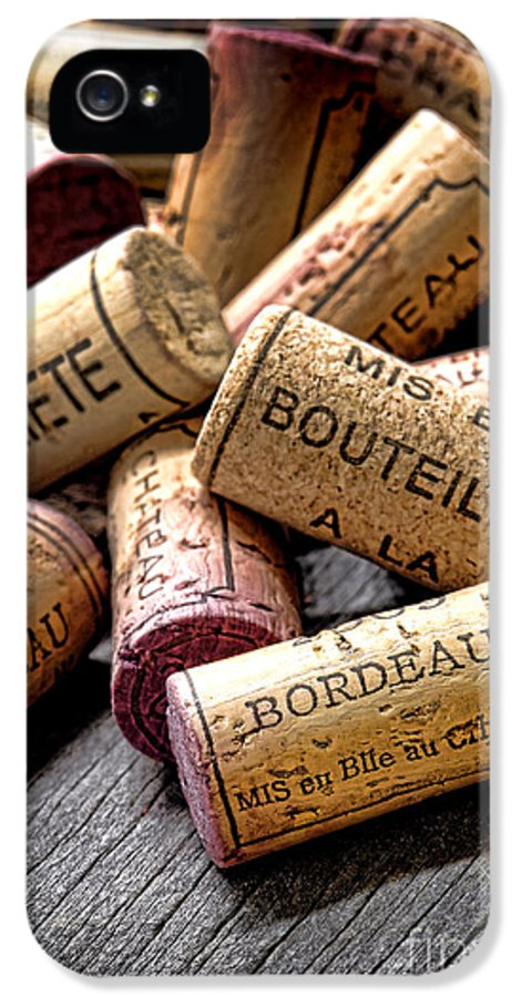 Wine Corks IPhone 5 / 5s Case featuring the photograph Bordeaux by Olivier Le Queinec