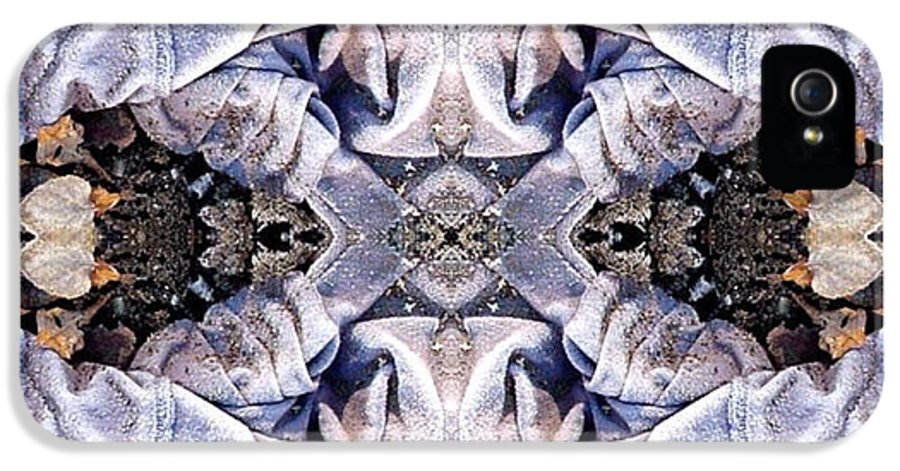 Abstract IPhone 5 / 5s Case featuring the digital art Church Clothing by Ron Bissett