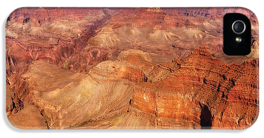 Grand IPhone 5 / 5s Case featuring the photograph City - Arizona - Grand Canyon - The Great Grand View by Mike Savad