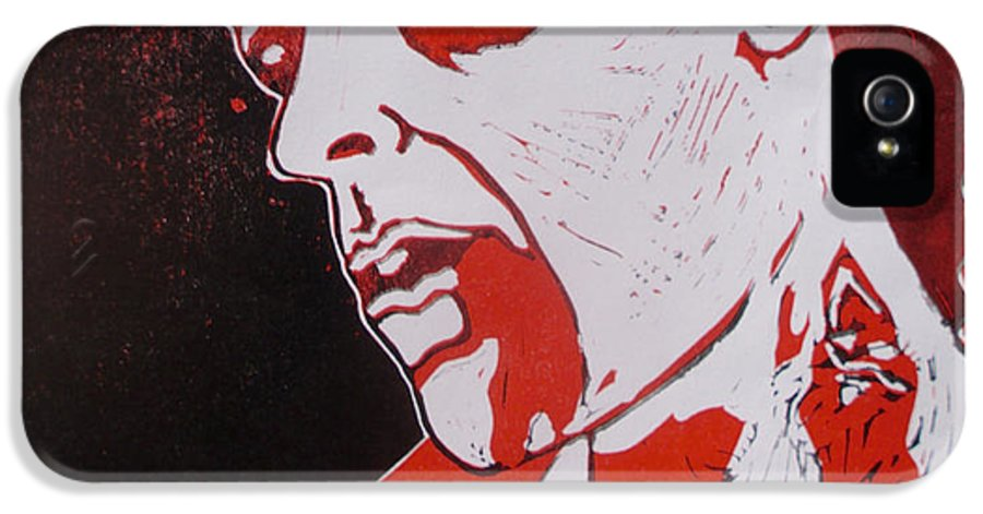 Dawn Of The Dead IPhone 5 / 5s Case featuring the painting Dawn Of The Dead Print 1 by Sam Hane