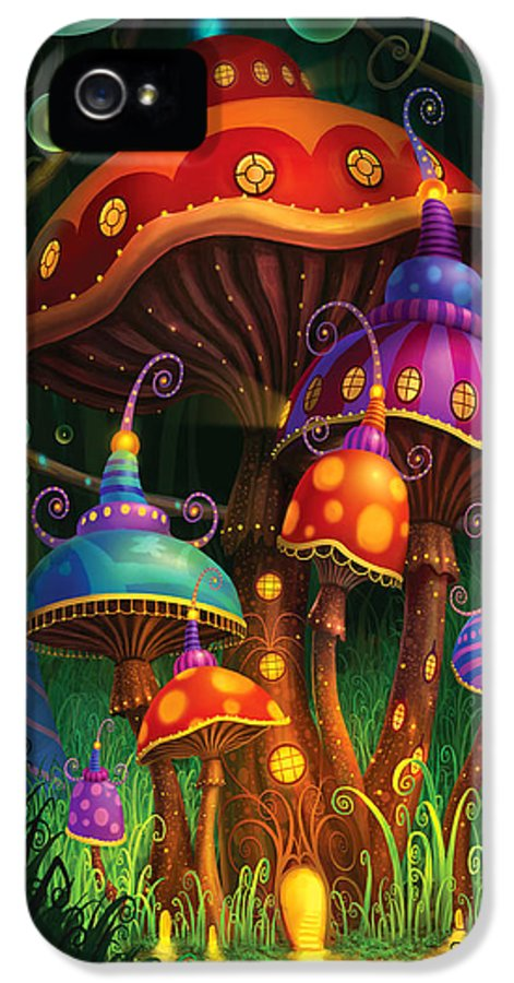 Philip Straub IPhone 5 / 5s Case featuring the painting Enchanted Evening by Philip Straub