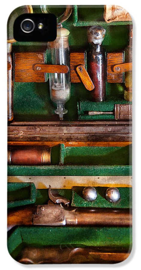 Vampire IPhone 5 / 5s Case featuring the photograph Fantasy - Emergency Vampire Kit by Mike Savad
