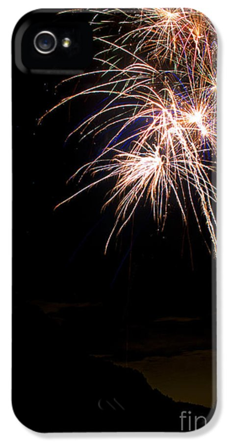Fireworks IPhone 5 / 5s Case featuring the photograph Fireworks  by James BO Insogna