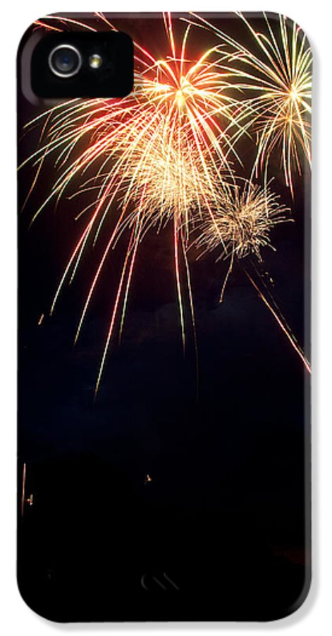 Fireworks IPhone 5 / 5s Case featuring the photograph Fireworks 49 by James BO Insogna