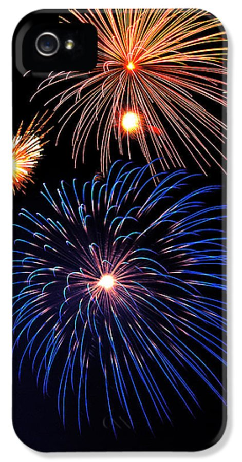 Fireworks IPhone 5 / 5s Case featuring the photograph Fireworks Wixom 1 by Michael Peychich
