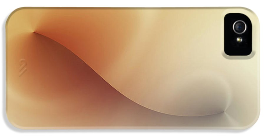 Abstract IPhone 5 / 5s Case featuring the digital art Incision by Wim Lanclus