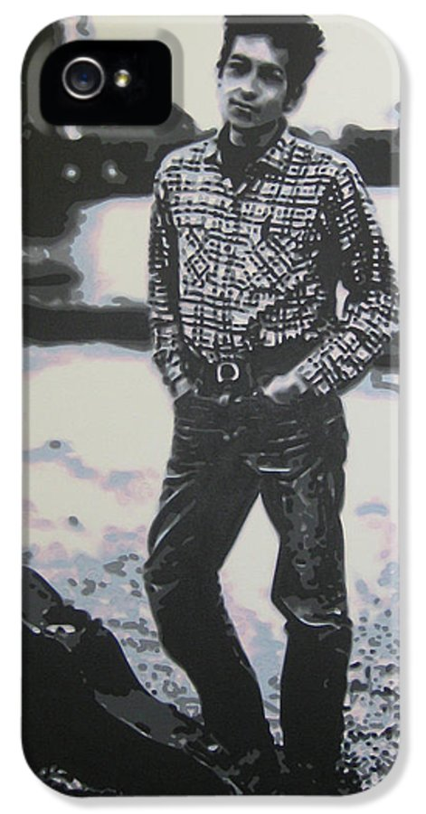 Ludzska IPhone 5 / 5s Case featuring the painting Is There No One Here That Knows Where Im At by Luis Ludzska