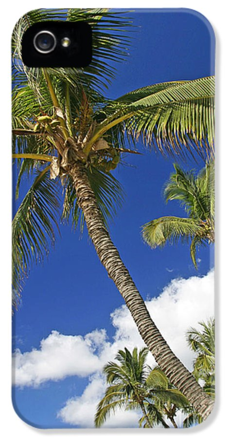 Bent IPhone 5 / 5s Case featuring the photograph Kamaole Beach by Ron Dahlquist - Printscapes