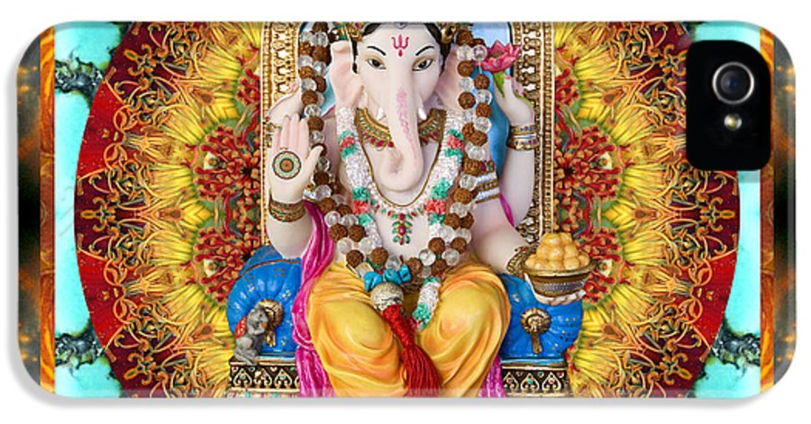 Ganesh IPhone 5 / 5s Case featuring the photograph Lord Generosity by Bell And Todd