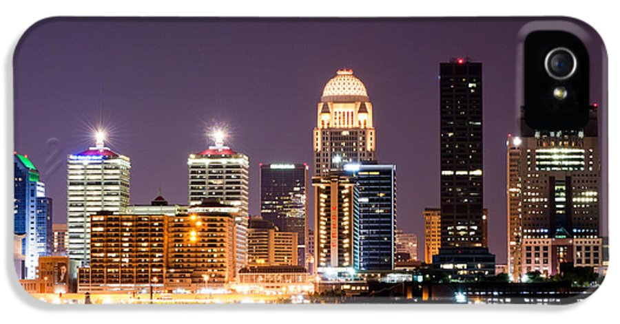 Louisville IPhone 5 / 5s Case featuring the photograph Louisville 1 by Amber Flowers