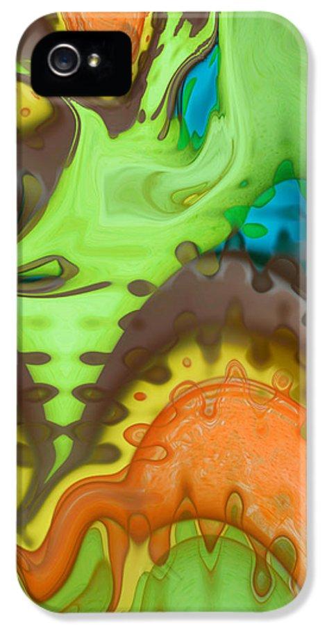 Digital Art IPhone 5 / 5s Case featuring the digital art Lucid Dreaming by Linda Sannuti