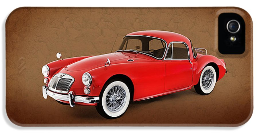 Car IPhone 5 / 5s Case featuring the photograph Mga 1959 by Mark Rogan