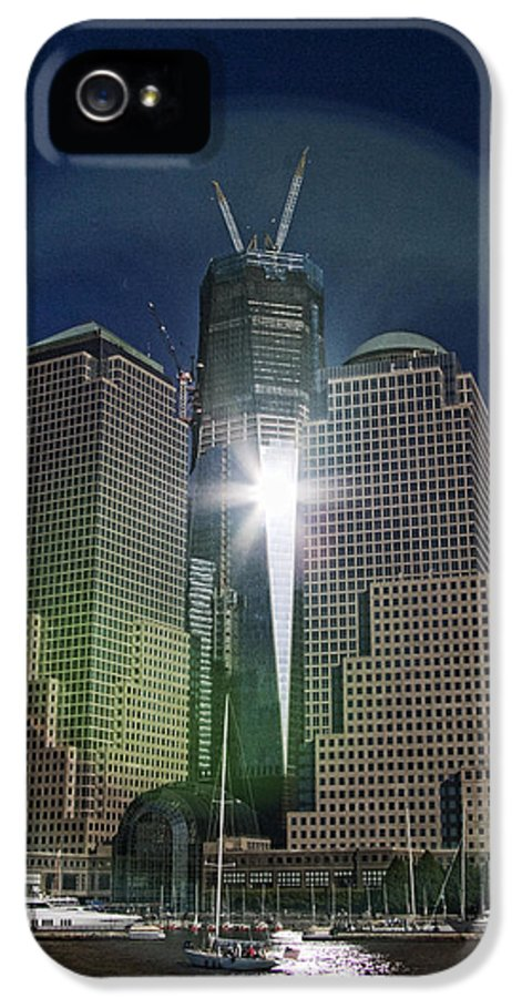 New IPhone 5 / 5s Case featuring the photograph New World Trade Center by David Smith