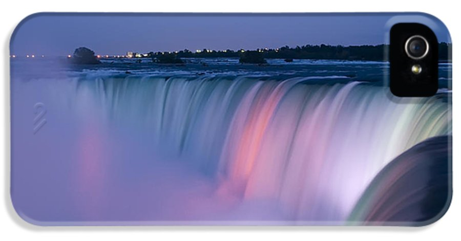 3scape Photos IPhone 5 / 5s Case featuring the photograph Niagara Falls At Dusk by Adam Romanowicz