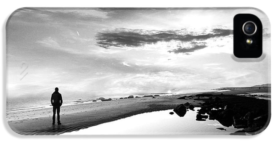 B&w IPhone 5 / 5s Case featuring the photograph Per Sempre by Jacky Gerritsen
