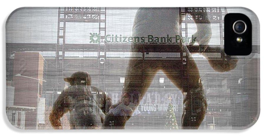 Philadelphia IPhone 5 / 5s Case featuring the photograph Philadelphia Phillies - Citizens Bank Park by Bill Cannon