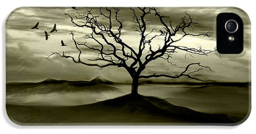 Landscape IPhone 5 / 5s Case featuring the photograph Raven Valley by Jacky Gerritsen