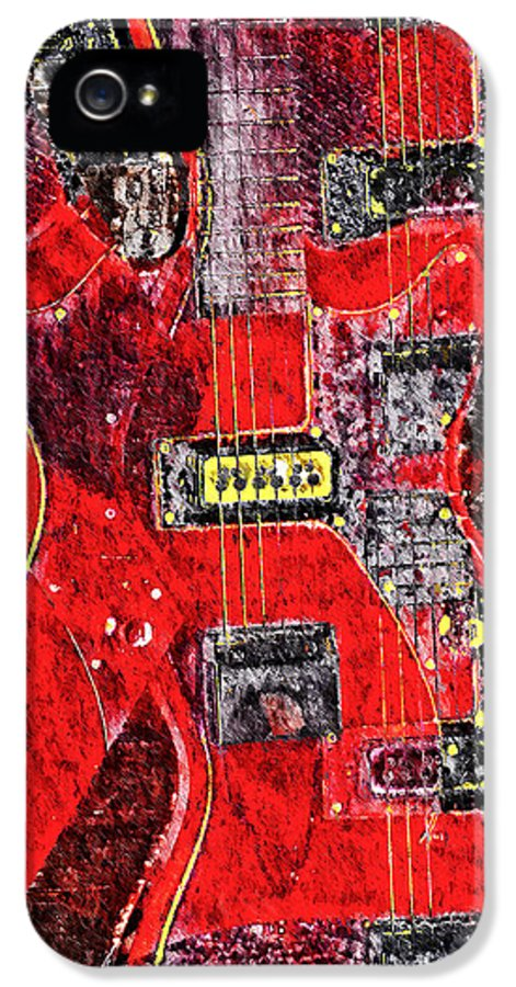Guild IPhone 5 / 5s Case featuring the photograph Red Devil by Bill Cannon