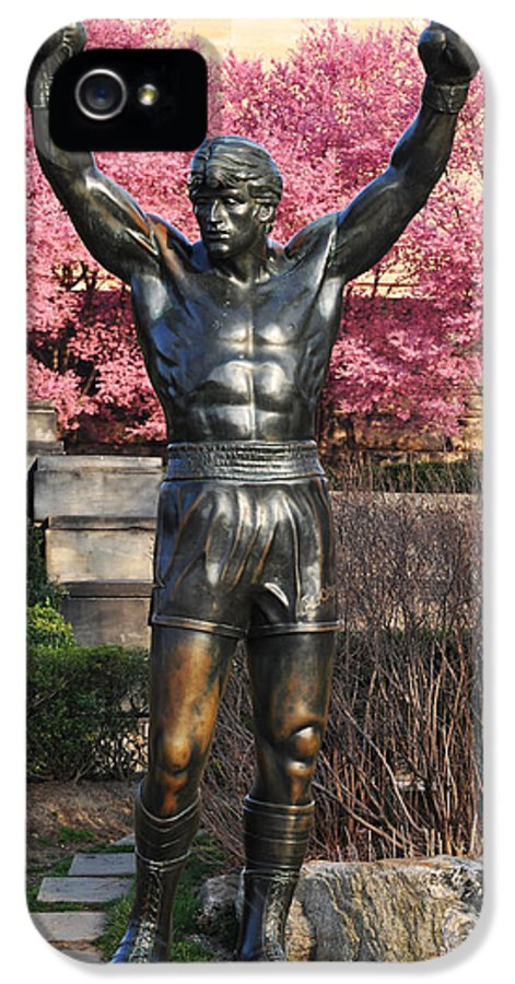 Rocky In Spring IPhone 5 / 5s Case featuring the photograph Rocky In Spring by Bill Cannon