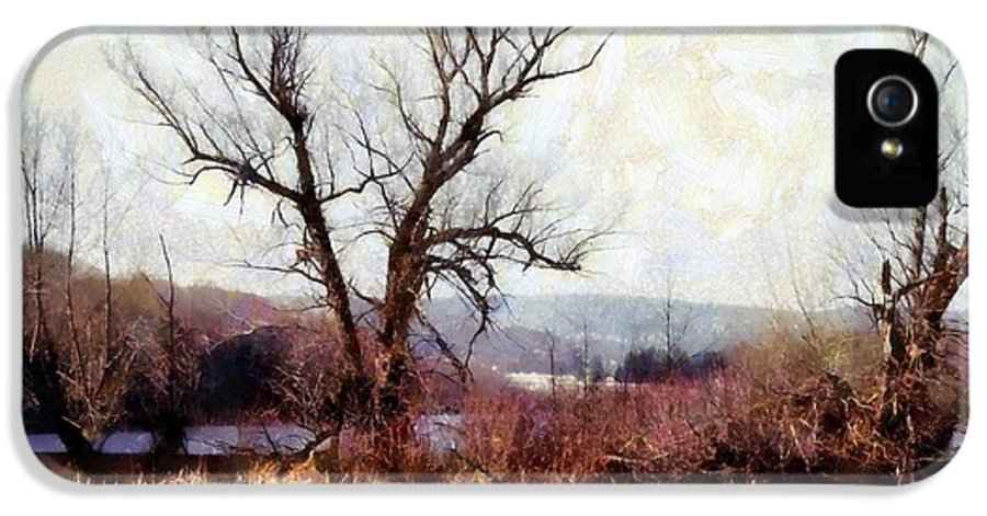 Pocono Mountains IPhone 5 / 5s Case featuring the photograph Rustic Reflections by Janine Riley