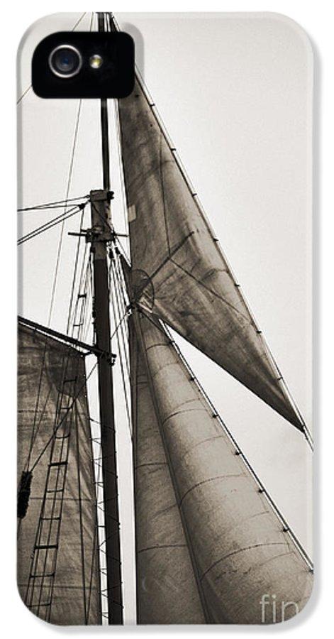 Tall Ship IPhone 5 / 5s Case featuring the photograph Schooner Pride Tall Ship Yankee Sail Charleston Sc by Dustin K Ryan
