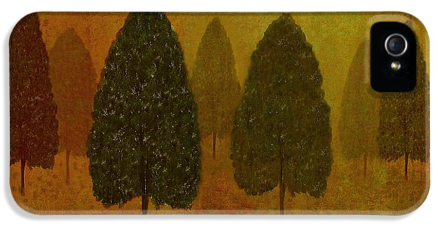 Tree IPhone 5 / 5s Case featuring the photograph September Trees by David Dehner