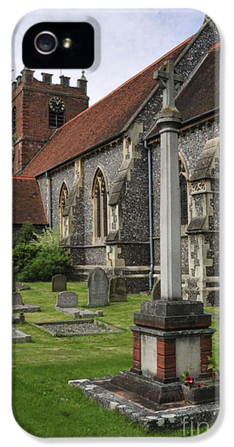 Church IPhone 5 / 5s Case featuring the photograph St James The Less Church by Andy Smy