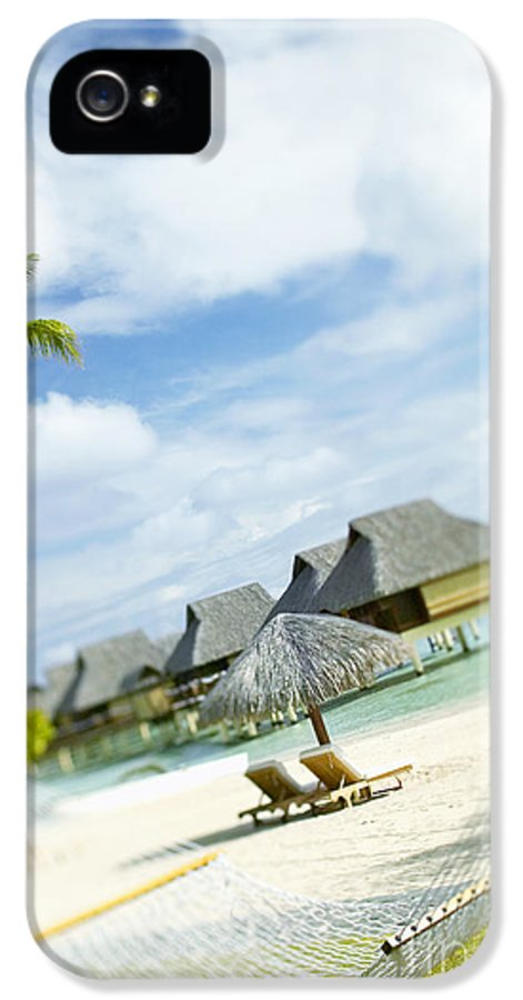 10-pfs0158 IPhone 5 / 5s Case featuring the photograph Tahiti, Bora Bora by Kyle Rothenborg - Printscapes