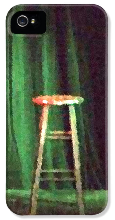 Stool IPhone 5 / 5s Case featuring the photograph Tell The World I'm Sorry by Cristophers Dream Artistry