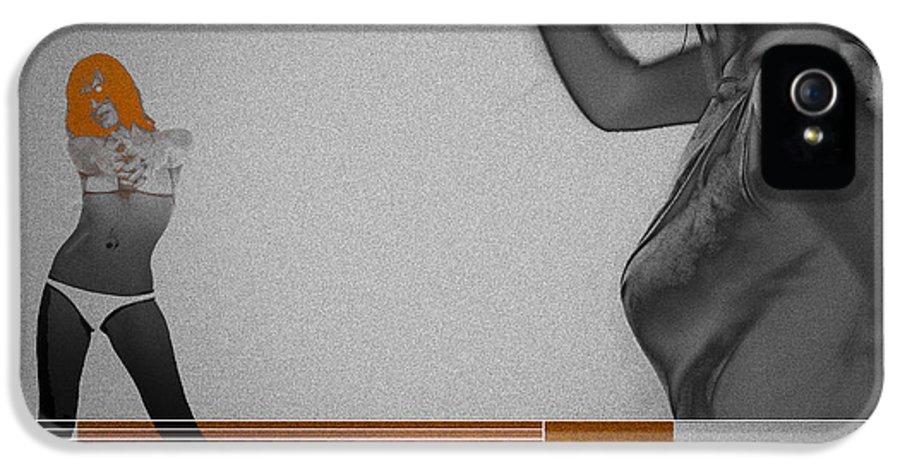 Texas IPhone 5 / 5s Case featuring the digital art Texas by Naxart Studio