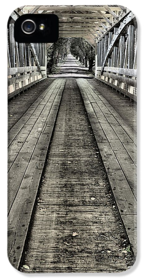 Covered Bridge IPhone 5 / 5s Case featuring the photograph The Covered Bridge by JC Findley